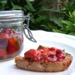 Poivrons grillés à l'huile d'olive