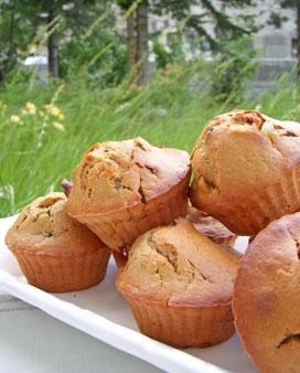Muffins épicés aux citrons confits & miel