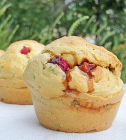 Muffins aux poivrons grillés – Muffin Monday #9