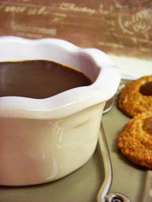 Crème pas brûlée à la crème de marrons … avec une fine couche croquante de chocolat