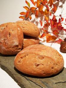 Petits pains à la châtaigne & éclats de marrons