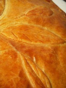 Epiphanie #1 : la galette des rois à la crème d'amande … légère