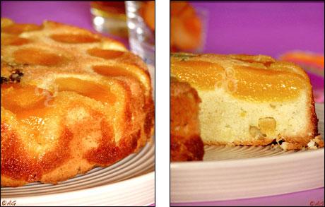 alter gusto | gâteau renversé à l'huile d'olive & abricots secs