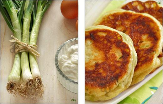 beignets de fromage blanc aux cebettes