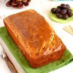 Cake de polenta, amandes & courgettes