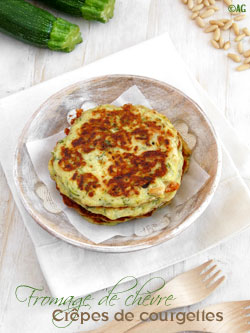 crepes de courgettes
