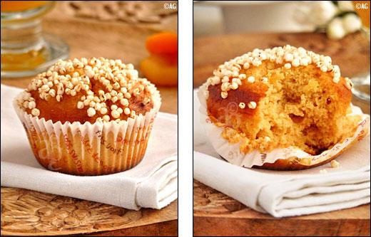 muffins au miel et farine de kamut