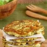 galettes de brocolis et saint marcellin