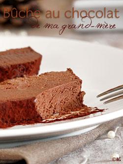 Alter gusto l 39 autre b che au chocolat de ma grand m re - Buche aux marrons sans cuisson ...