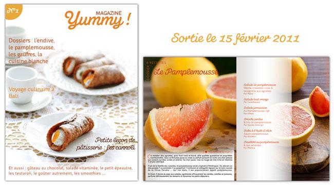 Yummy Magazine N°1 est en ligne !