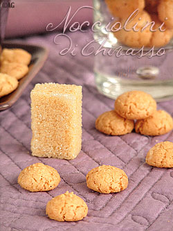 Nocciolini di Chivasso … Minuscules biscuits aux noisettes