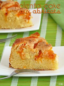 Gâteau aux abricots, fleur d'oranger & polenta inspirée par Nigella