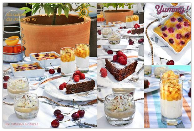 cuisine des vacances Yummy Magazine