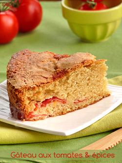 Gâteau aux tomates & épices