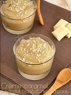 Petits pots de crèmes au caramel & mascarpone