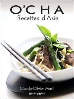 Ohlala ! 3 livres de cuisine numériques à gagner ! O'cha – Recettes d'Asie