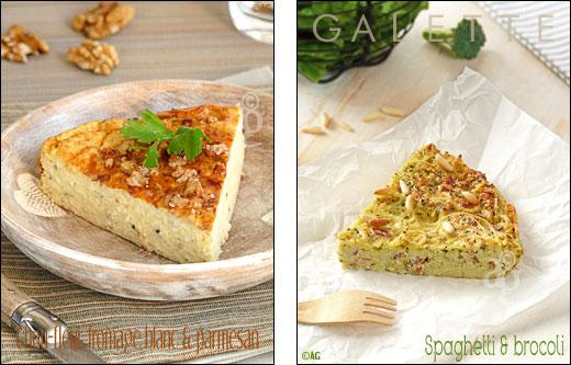 Gâteau de chou fleur ou galette de brocoli