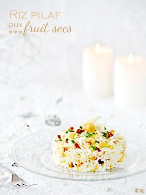 Accompagnement de fêtes #1 – Riz pilaf aux fruit secs