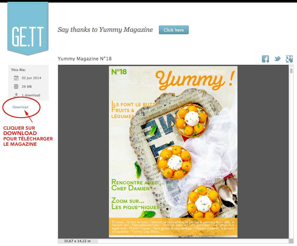 Télécharger Yummy Magazine N°18