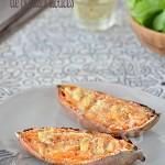 Purée gratinée de patates douces
