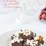 Carrés au chocolat & meringue