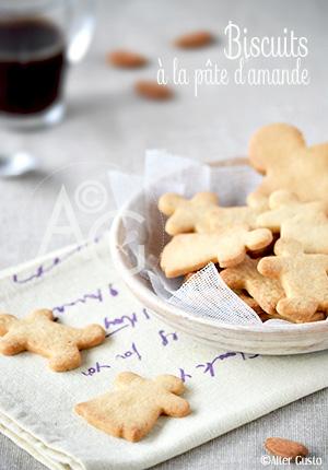 Biscuits à la pâte d'amande