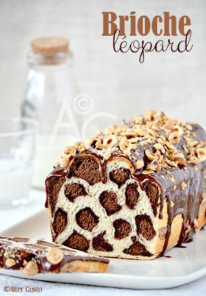 Brioche léopard – ou pain au lait…