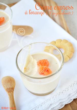 Orange Posset – Crème express à l'orange, avec seulement 3 ingrédients