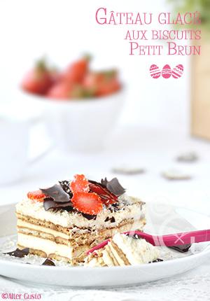 Gâteau glacé aux biscuits Petit Brun – Pâques #4