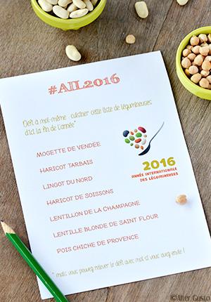 Bricks aux lentilles vertes, champignons & feta – Défi à moi même #ail2016 Année internationale des légumineuses