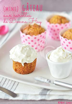 ( mini ) Gâteau aux carottes de Donna Hay