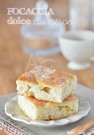 Focaccia dolce au citron – Méthode de Dan Lepard