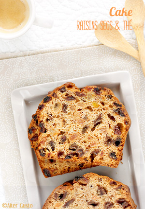 Cake aux raisins secs & thé – Jane grigson's fruit tea loaf