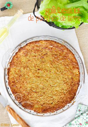 Gâteau de pommes de terre au cottage cheese