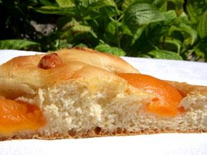 focaccia abricots amandes