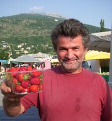 La graine devint fraise … puis calzoni aux fraises & gingembre