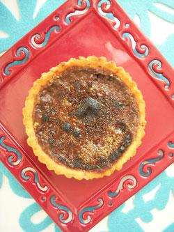 Tartelettes pralinées double chocolat façon crème brûlée