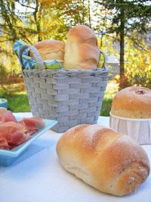 Petits pains au yaourt de chèvre & noix