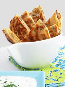 Buttermilk pancakes aux champignons – Apéro automnal #2