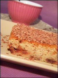 Gâteau au tofu soyeux, crème de marrons & chocolat … Quelle aventure !!