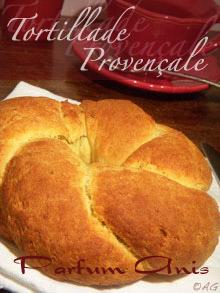 Tortillade Provençale parfumée aux graines d'anis