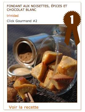Click Gourmand #2 – La gagnante est …