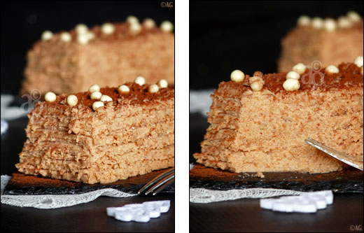 buche chocolat et marrons