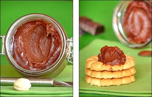 chocolat et noix de cajou