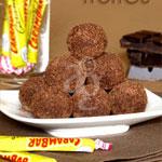Truffes au chocolat noir & carambars