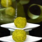 truffes chocolat blanc safran