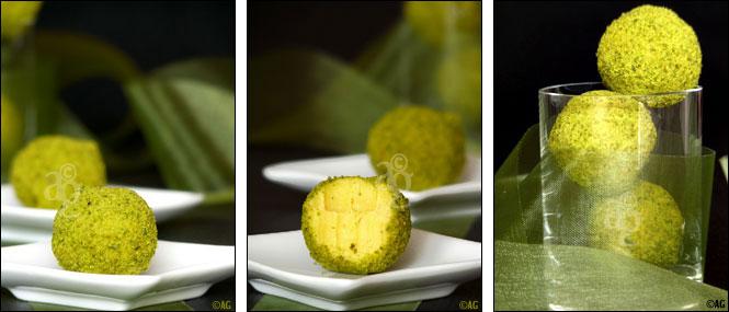 truffes safran pistache