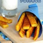 frites de polenta & courge