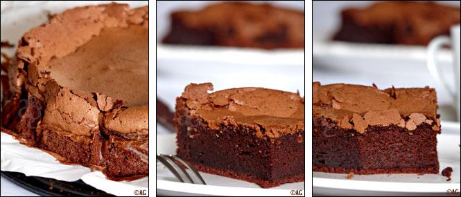 gâteau au chocolat et huile d'olive