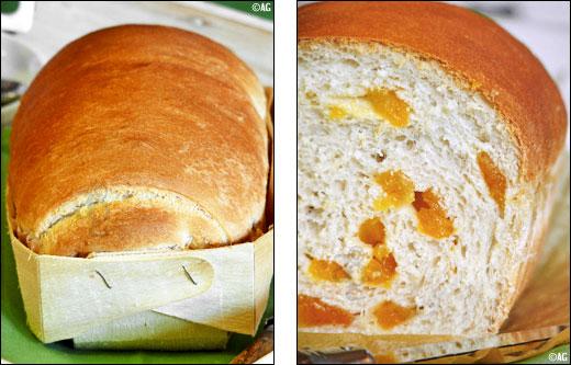 pain au lait d'amande